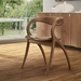 Star Contemporary Dining Chair - Walnut