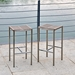 Stone Backless Indoor Outdoor Modern Bar Stools