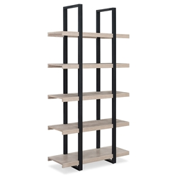 Stavanger Modern Natural Tall Bookcase