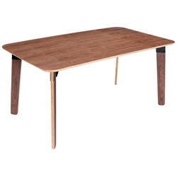 Sudbury Contemporary Table by Gus Modern in Walnut