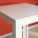 TemaHome Sulens 32x28 Modern White Bar Table