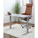 Swift Contemporary 47 in. Grey Standing Desk by Unique Furniture
