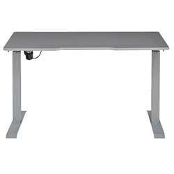 Swift Modern Grey Standing Desk by Unique Furniture