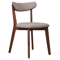 Tahoe Modern Walnut Dining Chair