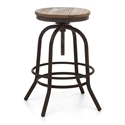 Talya Backless Adjustable Contemporary Counter Stool
