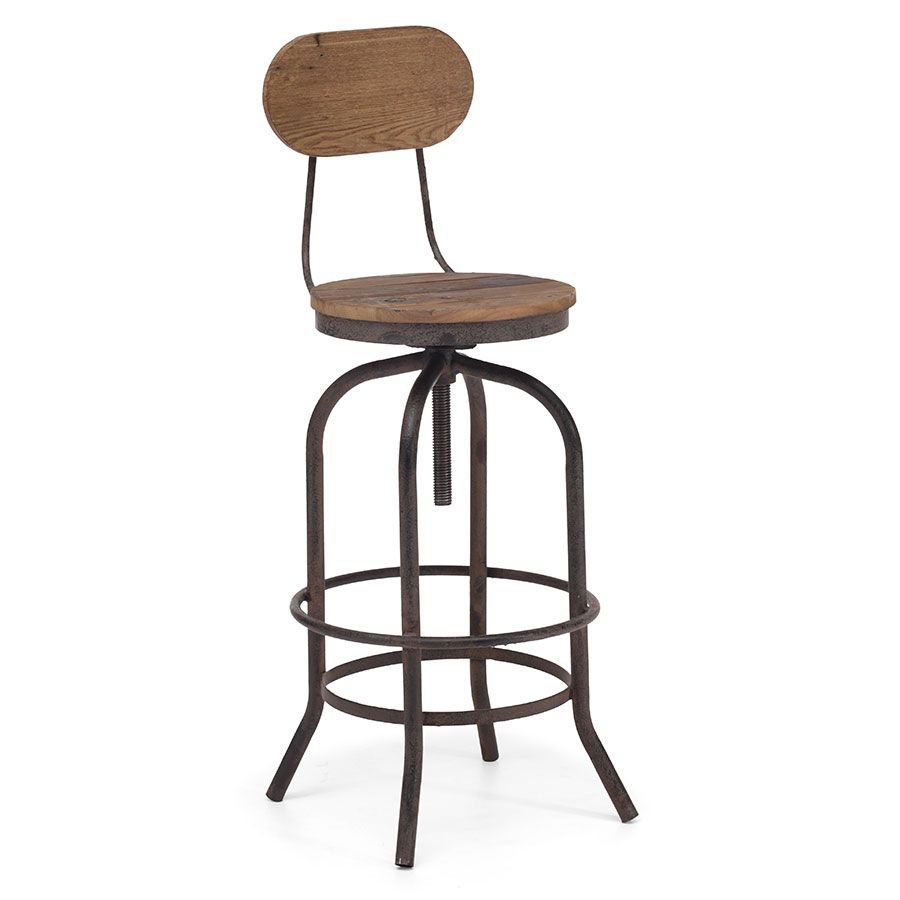 Twin Peaks Contemporary Bar Chair