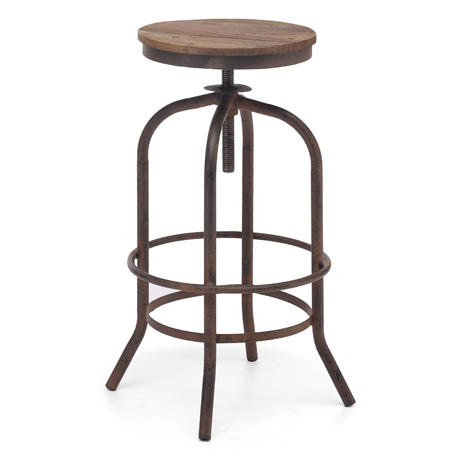 Talya Contemporary Backless Adjustable Bar Stool