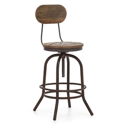 Twin Peaks Contemporary Adjustable Counter Stool