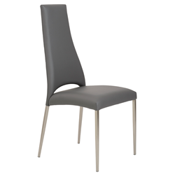 Thorpe Gray Modern Side Chair