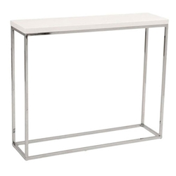 Teresa Modern White High Gloss Console Table