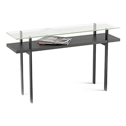Terrace Modern Charcoal Console Table by BDI