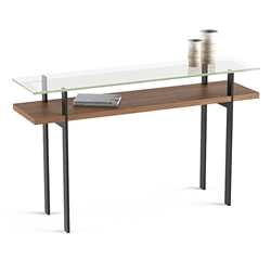 Terrace Modern Walnut Console Table by BDI