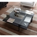 Terrace Modern Square Charcoal Coffee Table