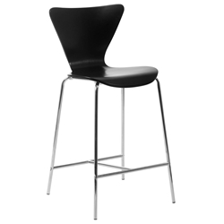 Tendy Modern Black Counter Stool