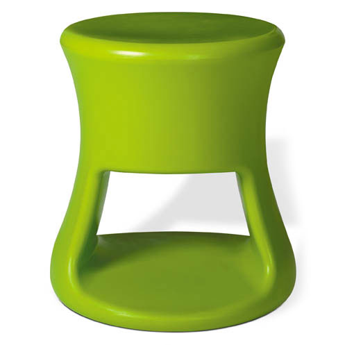 Tiki Green Outdoor Stool + Accent Table by Offi & Company