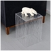 Gus Modern Timber Acrylic End Table