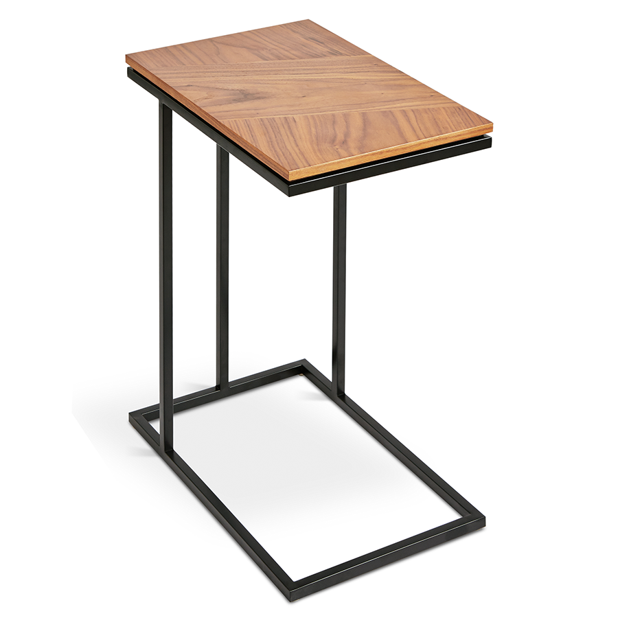 Genial Gus* Modern Tobias Walnut Nesting Table