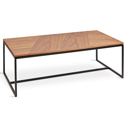 Gus* Modern Tobias Rectangle Walnut Coffee Table
