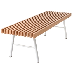 Transit Contemporary Bench by Gus Modern