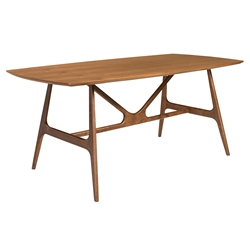 Trinity American Walnut Modern Dining Table