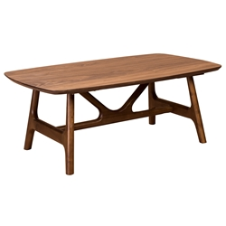 Trinity American Walnut Modern Coffee Table