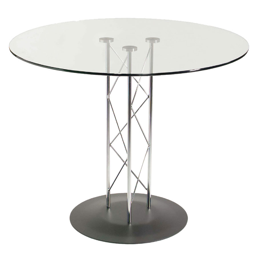 Trave Modern Classic 32 In. Dining Table w/ Black Base