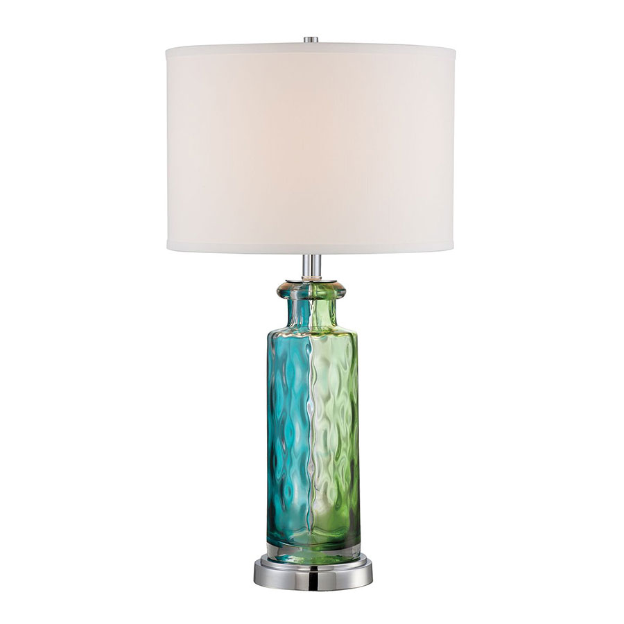Tristan Multi-Color Contemporary Table Lamp