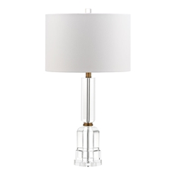Trudy Brass Contemporary Table Lamp