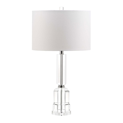 Trudy Nickel Contemporary Table Lamp