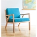 Truss Contemporary Lounge Chair in Muskoka Surf by Gus Modern