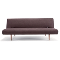 Unfurl Modern Sofa Sleeper in Brown