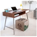 Upcycle Contemporary Cube Ottoman by Gus Modern