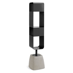 Ursa Modern Anthracite Swivel Shelves
