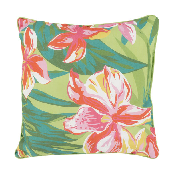 "Ursa 16"" Tropical Contemporary Pillow"