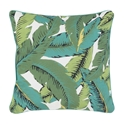"Uther 16"" Tropical Contemporary Decorative Pillow"