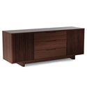 Vertica Chocolate Contemporary TV Stand