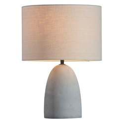Vijay Contemporary Concrete Table Lamp
