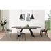 Lizarte Modern Dining Table and Vilante Side Chairs