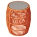 Modloft Volta Orange Cord Modern Outdoor Accent Table