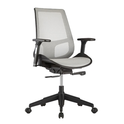 Vahn Gray Modern Office Chair