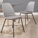 Whistler Contemporary Grey Dining Chair by Unique Furniture