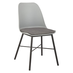 Whistler Grey Modern Dining Chair by Unique Furniture