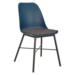 Whistler Navy Modern Dining Chair by Unique Furniture