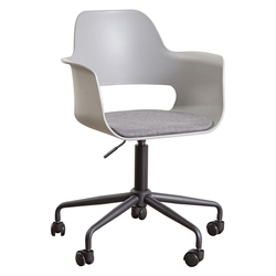 Whistler Grey Modern Office Chair by Unique Furniture