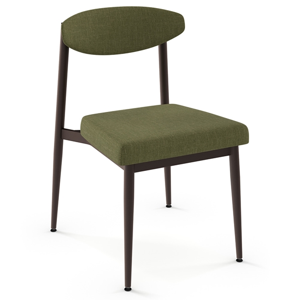 Wilbur Modern Dining Chair by Amisco in Oxidado + Cactus