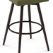 Wilbur Modern Stool by Amisco - Base Detail in Oxidado