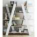Wind White + Oak Contemporary Shelves Room