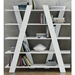 Wind White Contemporary Shelves Room