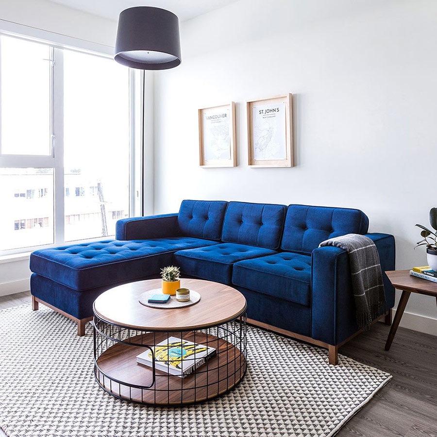 ... Wireframe Table   Pictured With Jane Loft Bi Sectional
