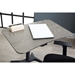 Workpad Modern Lift Desk in Gray - Top Detail